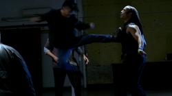 Dante kicks Wallace (T.J