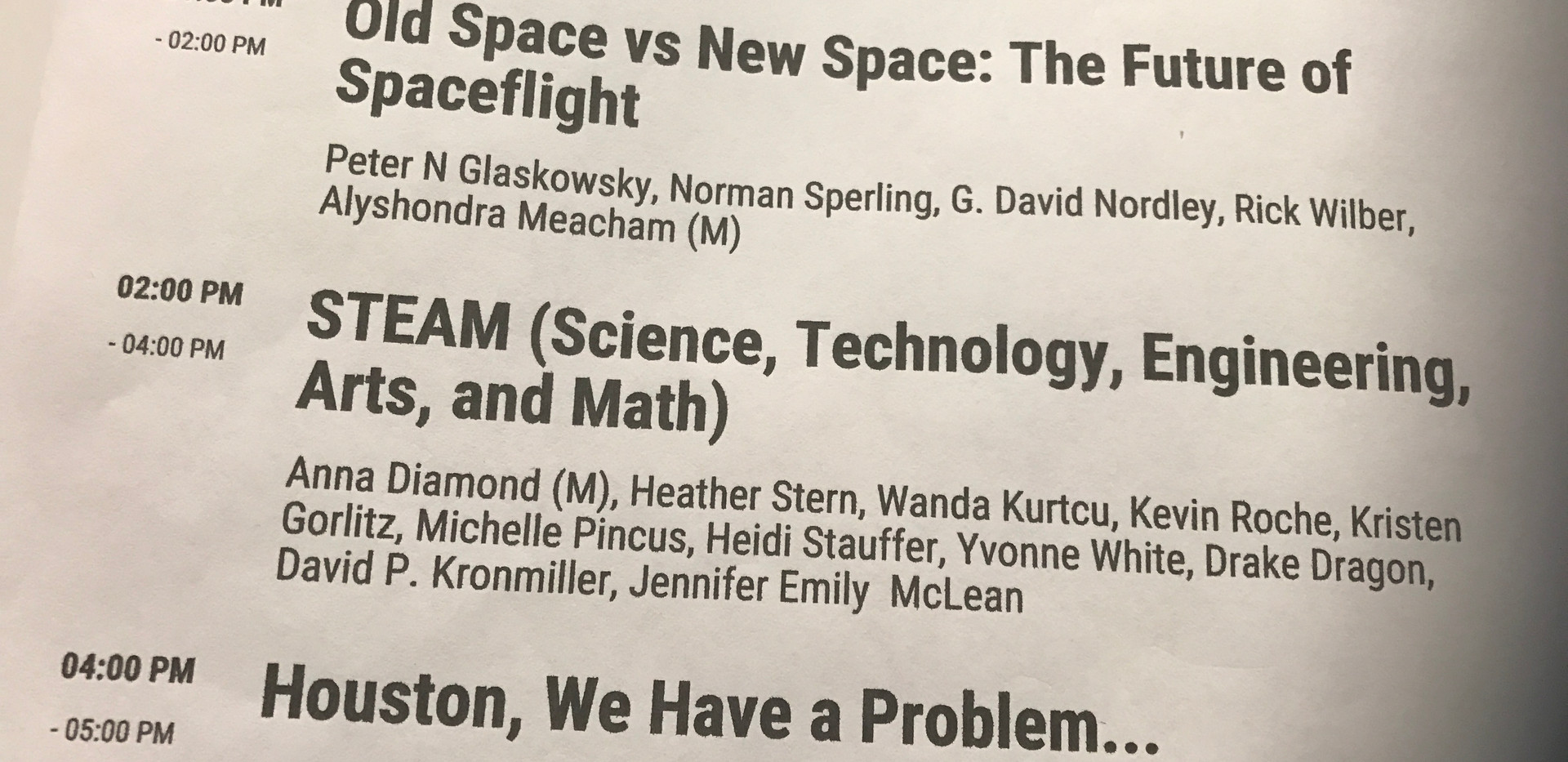 S.T.E.A.M. Panel!