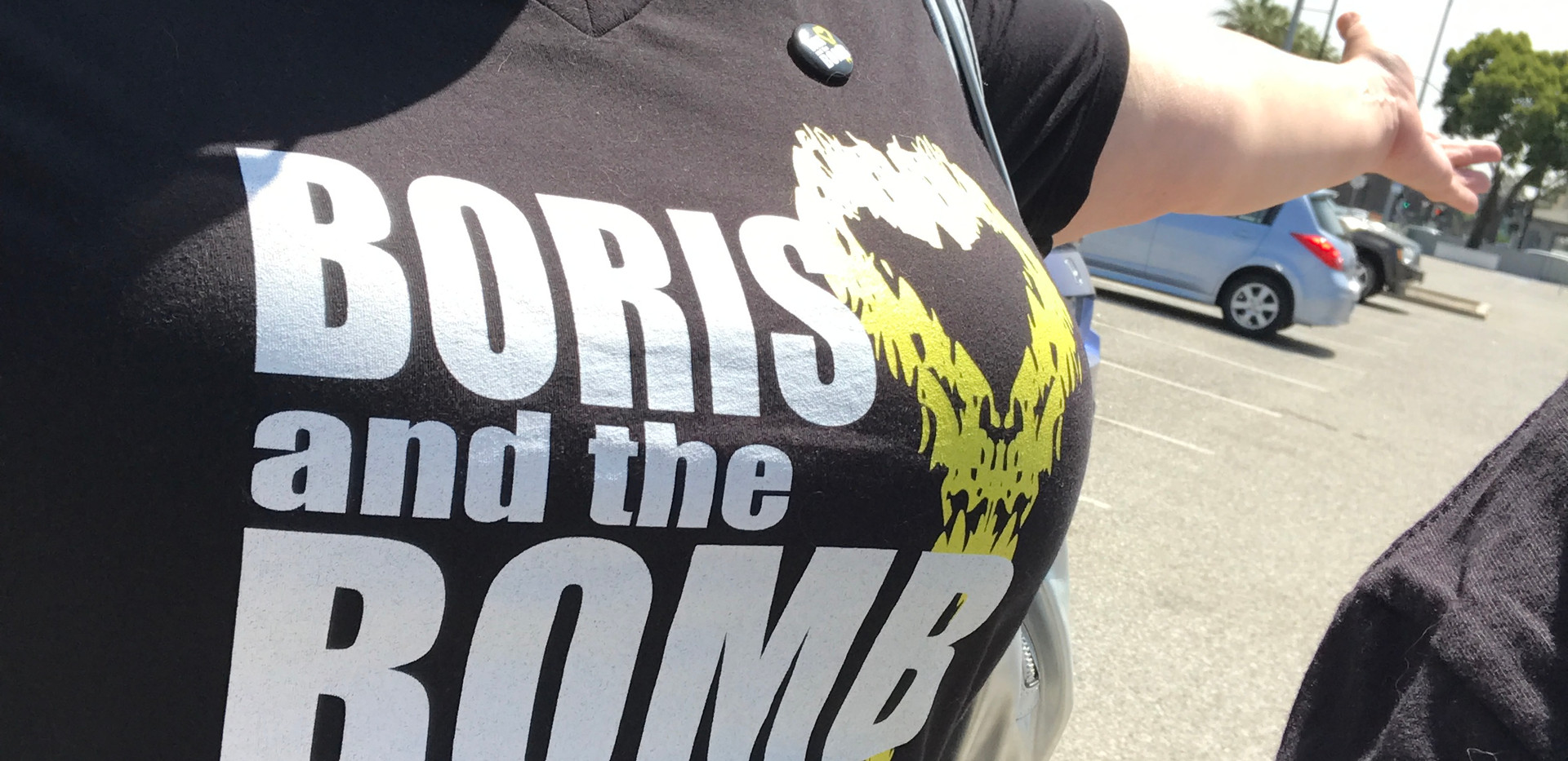 Boris and the Bomb T-Shirt