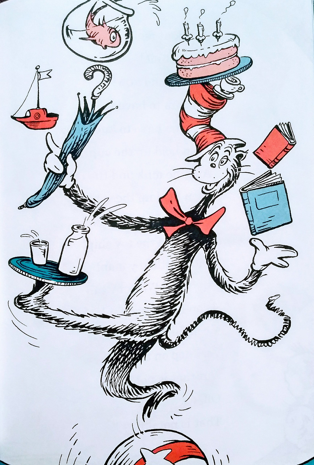 Cat in the Hat, by Dr. Seuss, 1950s