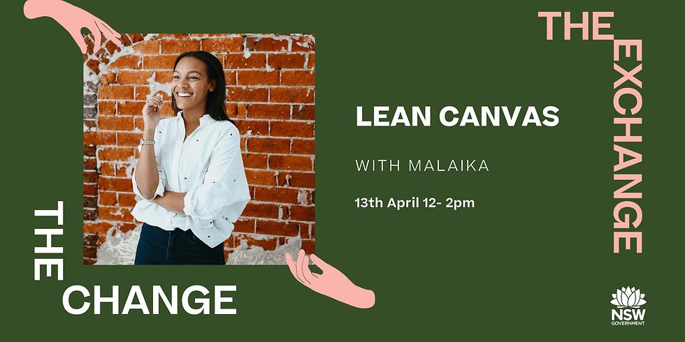 The CHANGE Online- Lean Canvas