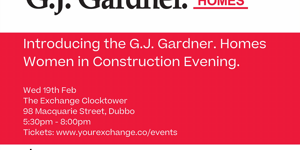 Introducing the G.J. Gardner. Homes Women in Construction Evening!