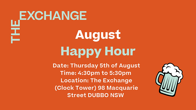 Community Event: August Happy Hour