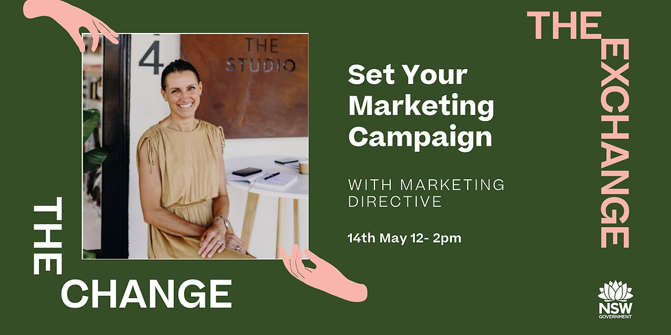 The CHANGE- Set Your Marketing Campaign