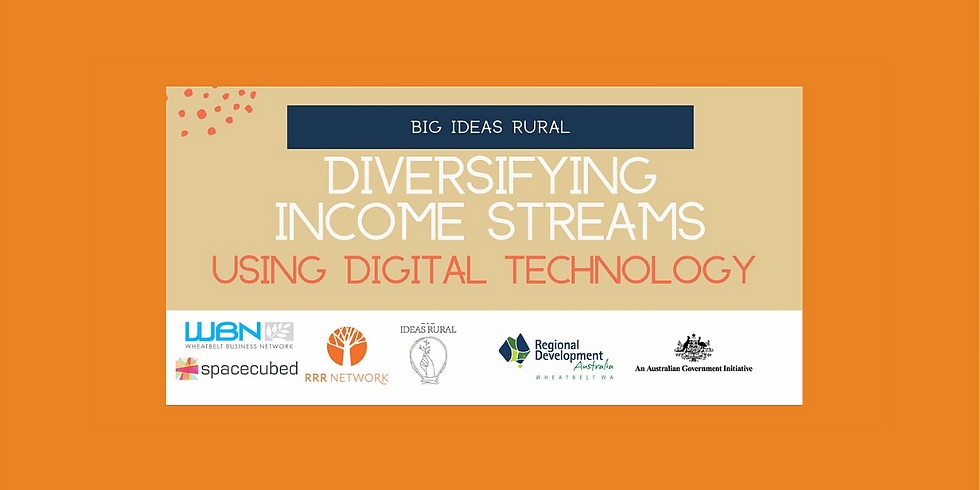 Diversifying your income streams using digital technology!