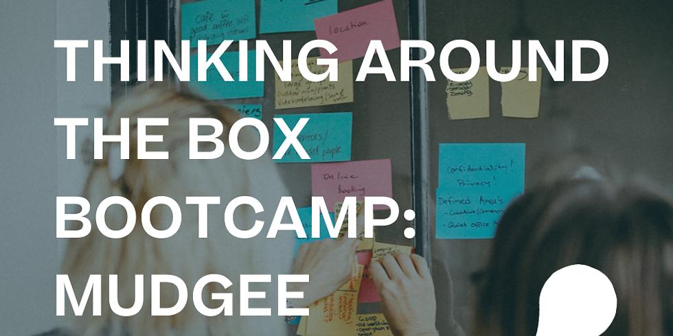 Thinking around the box bootcamp: MUDGEE