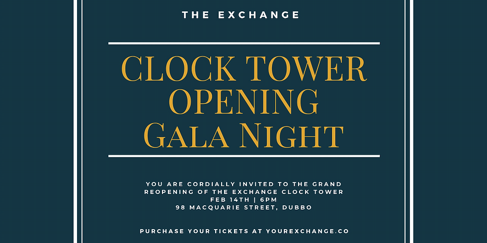 The Exchange Clocktower Opening Gala!