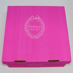Caixa de Torta Confeitaria Pequena Rosa