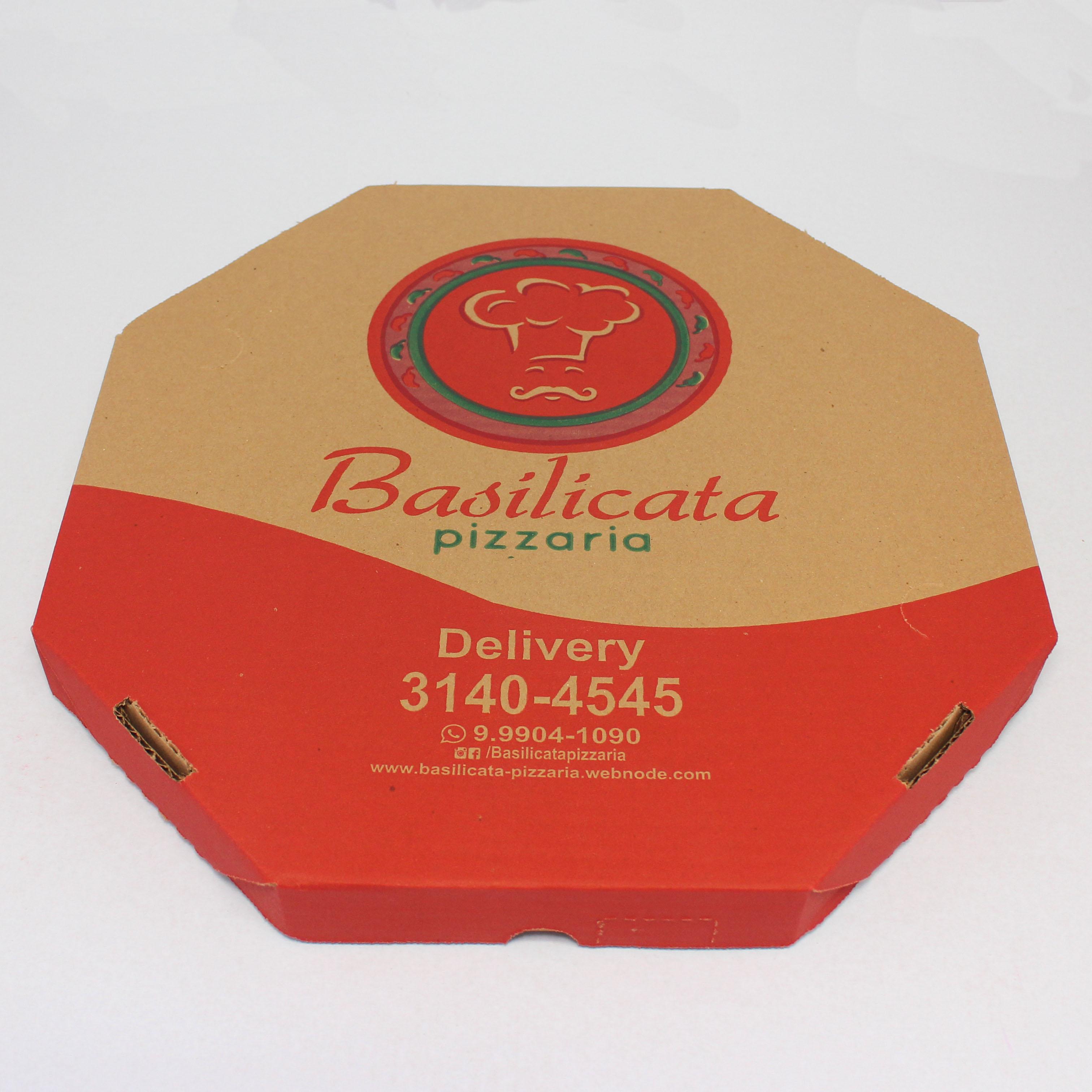Caixa de Pizza Personalizada