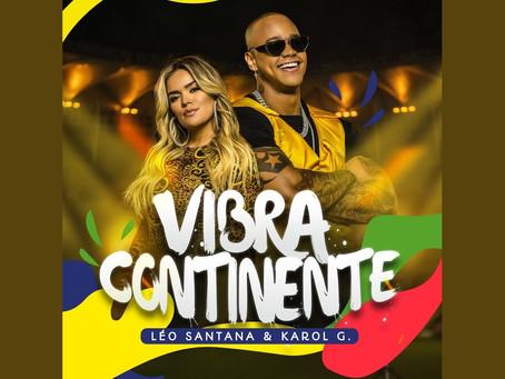 Tema da Copa América, música de Léo Santana e cantora colombiana Karol G é lançada; assista ao clipe