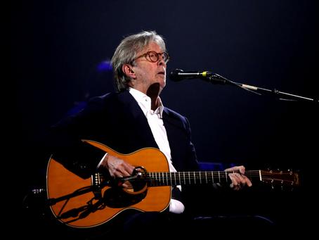 Eric Clapton lança música com letra antivacinação