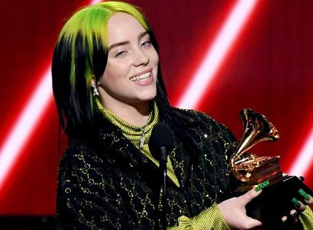 Grammy 2020 consagra Billie Eilish com seis prêmios; veja outros vencedores... - Veja mais em https: