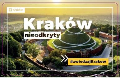 Jesteśmy partnerem programu #zwiedzajKrakow