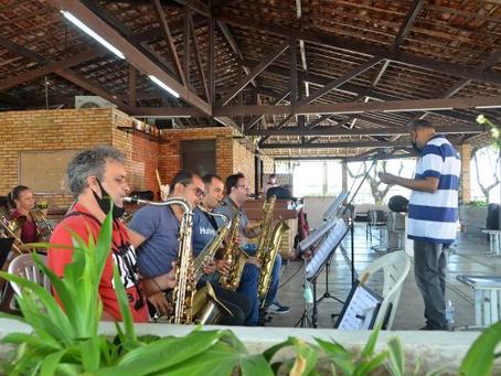Orquestra e bandas musicais da Sedec intensificam ensaios para apresentações do 7 de setembro