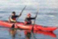 kayak doppio polietilene
