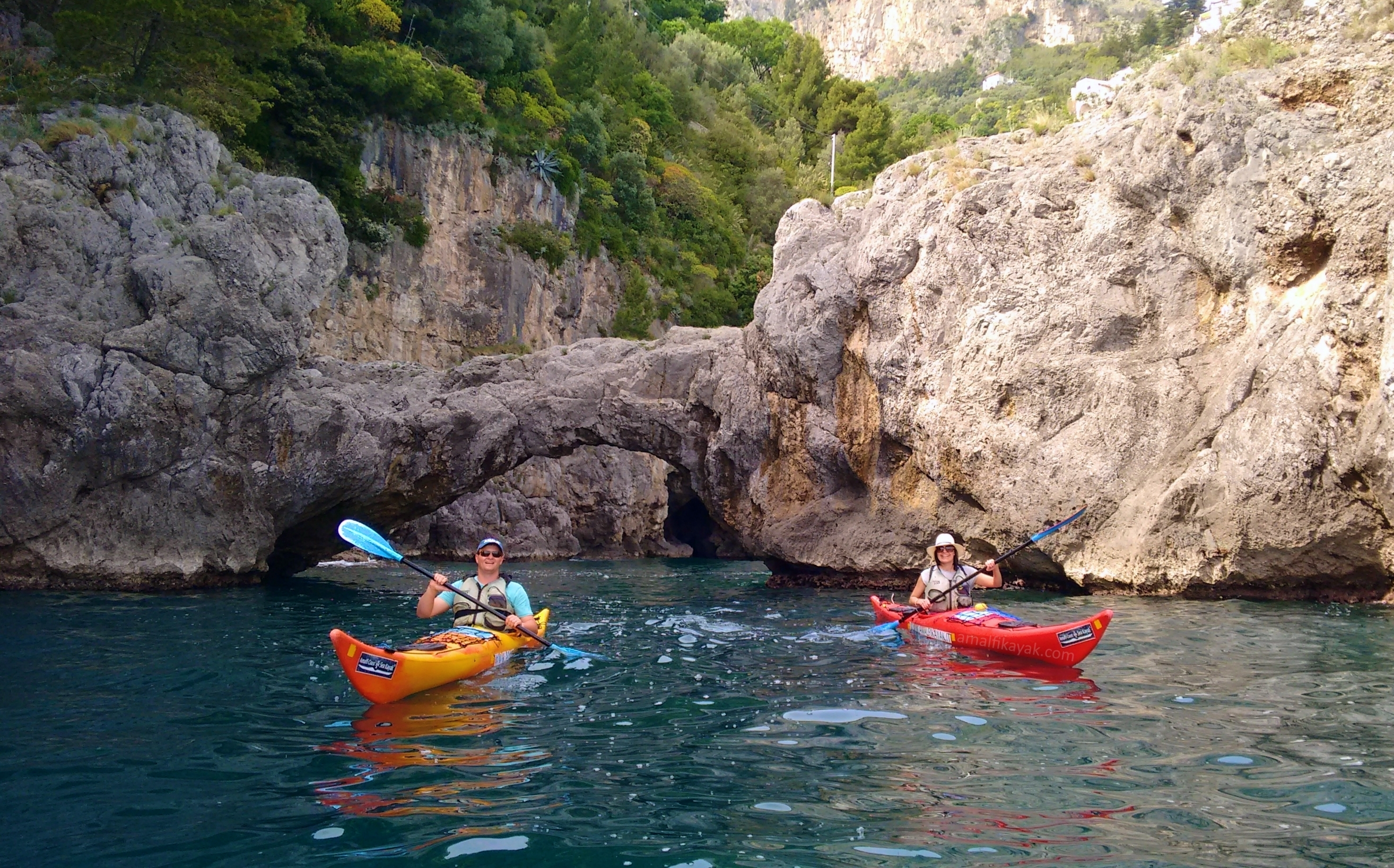 Arch of Lovers - Amalfi Kayak, Italy