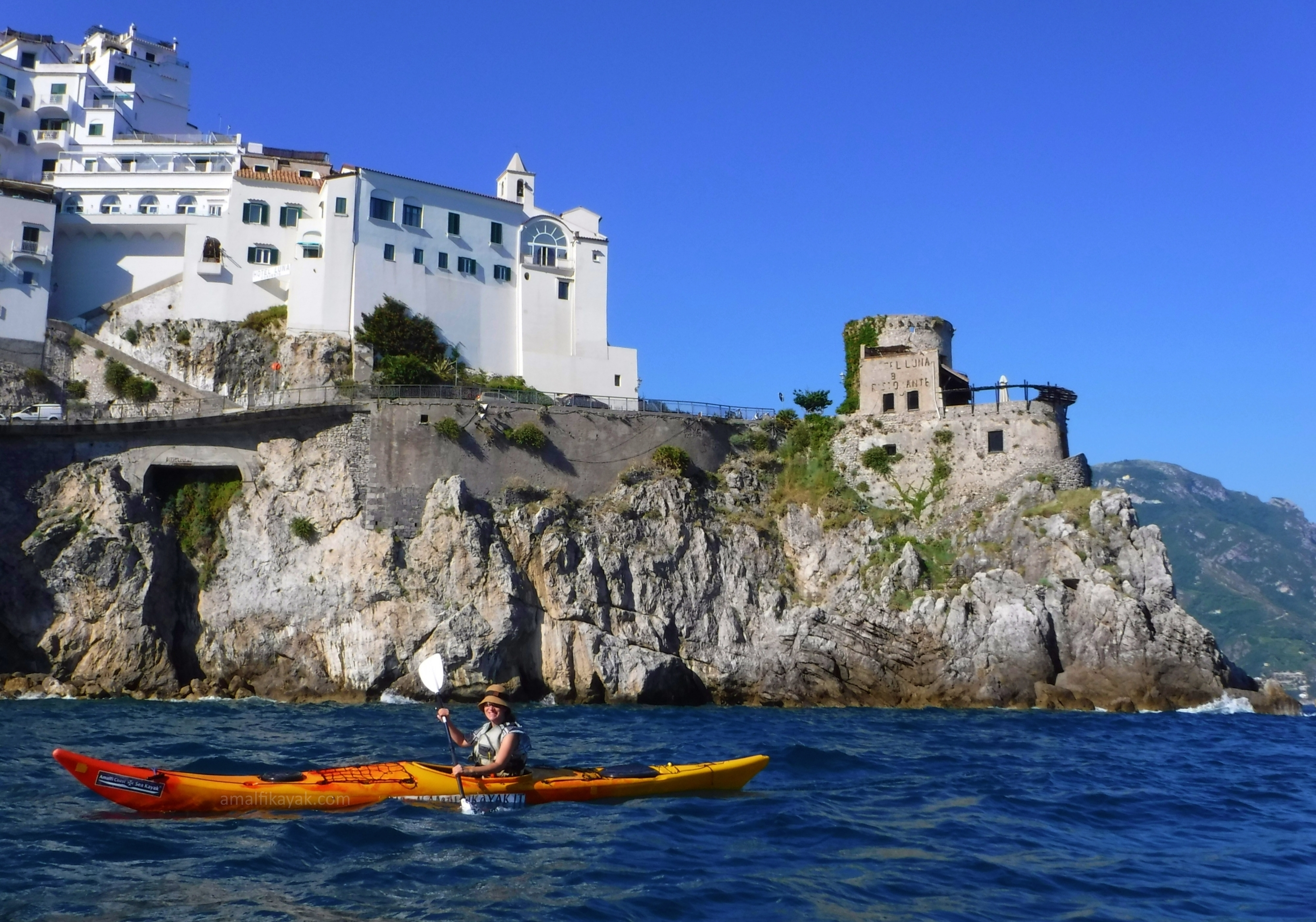 Hotel Luna, Convent - Amalfi Kayak
