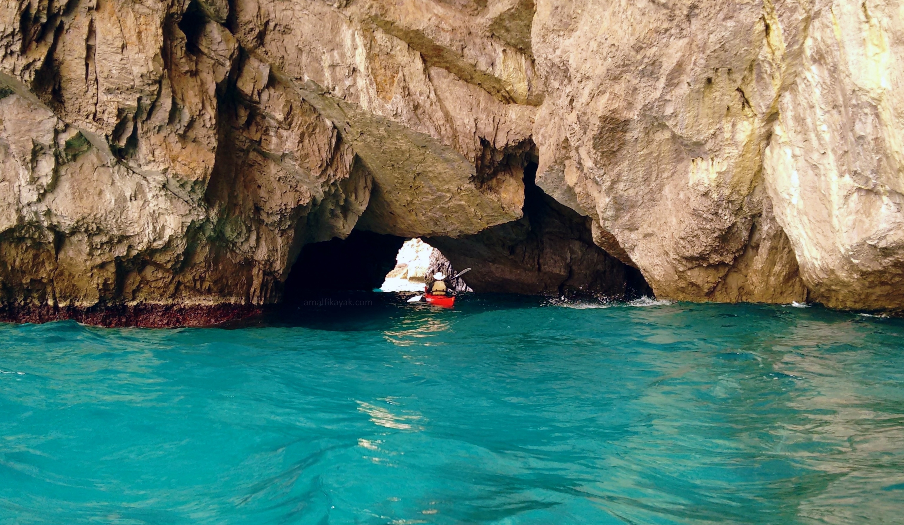 Green Grotto, Capri - Amalfi Kayak