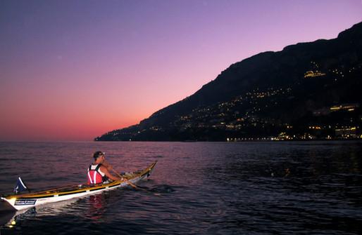 Sunset in Amalfi - Amalfi Kayak, Italy