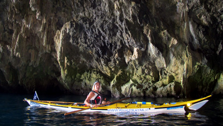 Grotta Pandora, Maiori, Amalfi Kayak