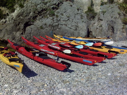 Amalfi Kayak Equipment