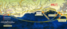 Amalfi Kayak Map