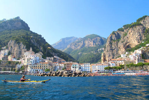 Panorama di Amalfi - Amalfi Kayak, Italia