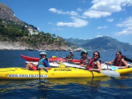 View of Amalfi - Amalfi Kayak, Italy