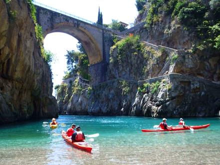 Fjord of Furore - Amalfi Kayak, Italy