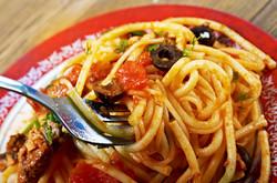 7-herb spaghetti