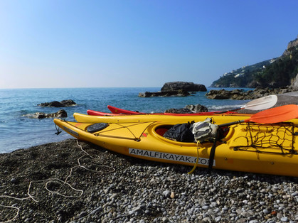 Spiaggia Duoglio - Amalfi Kayak, Italia