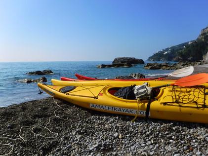 Duoglio beach - Amalfi Kayak, Italy