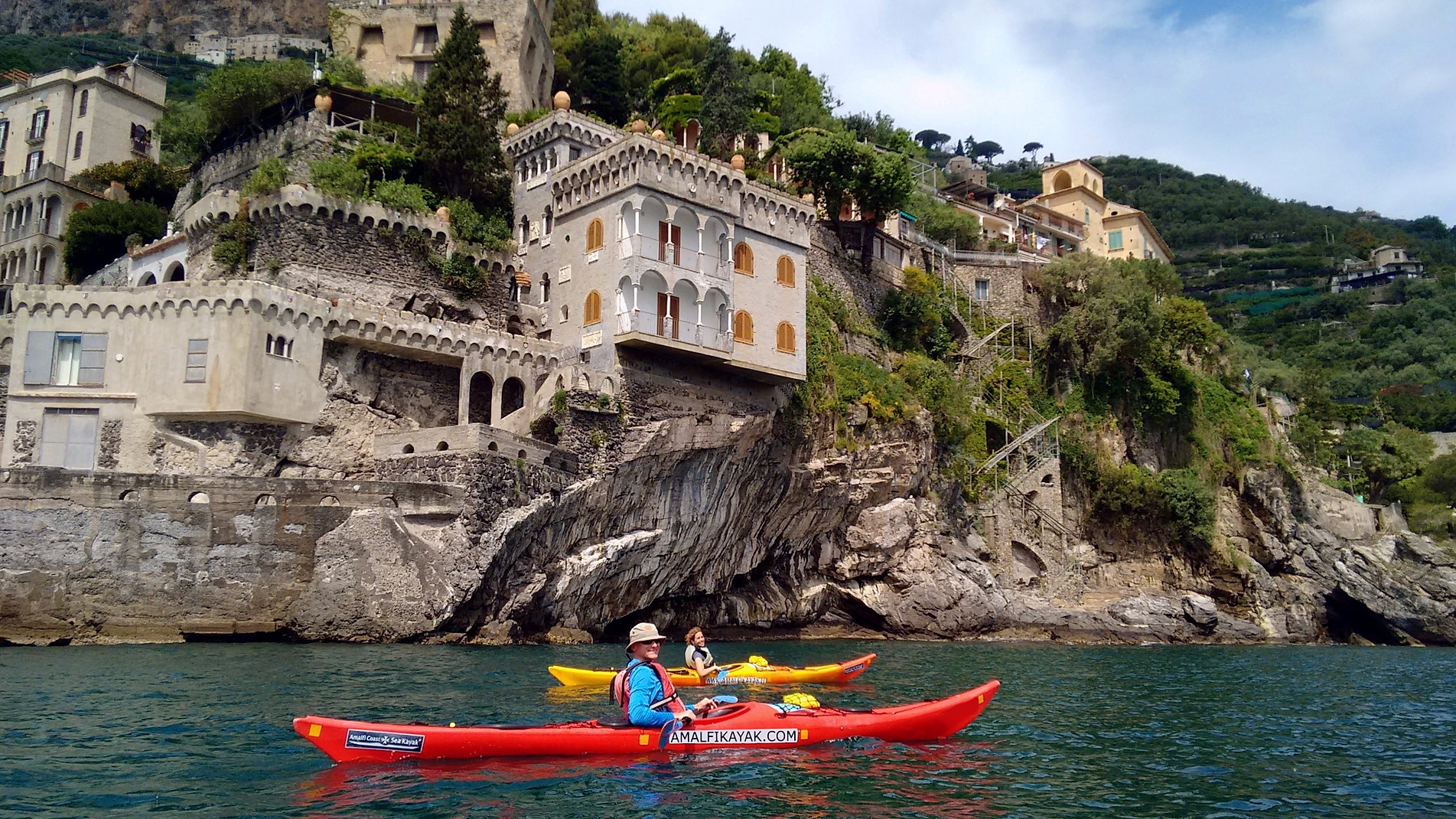 Amalfi maiori escursioni in kayak da mare in costiera - Bagni lido andora ...