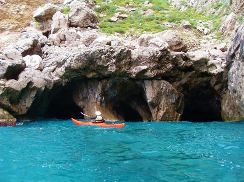 Grotta delle Tre Sorelle, Capri
