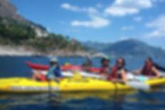 Kayaking Amalfi, Italy