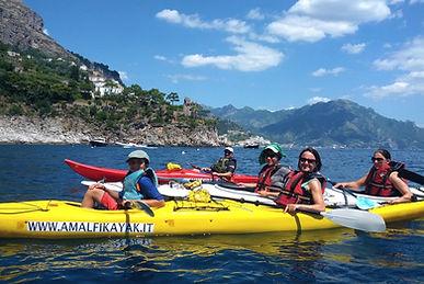 Kayak in Costiera Amalfitana