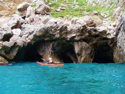 re Sorelle Grottos, Capri - Amalfi Kayak Italy