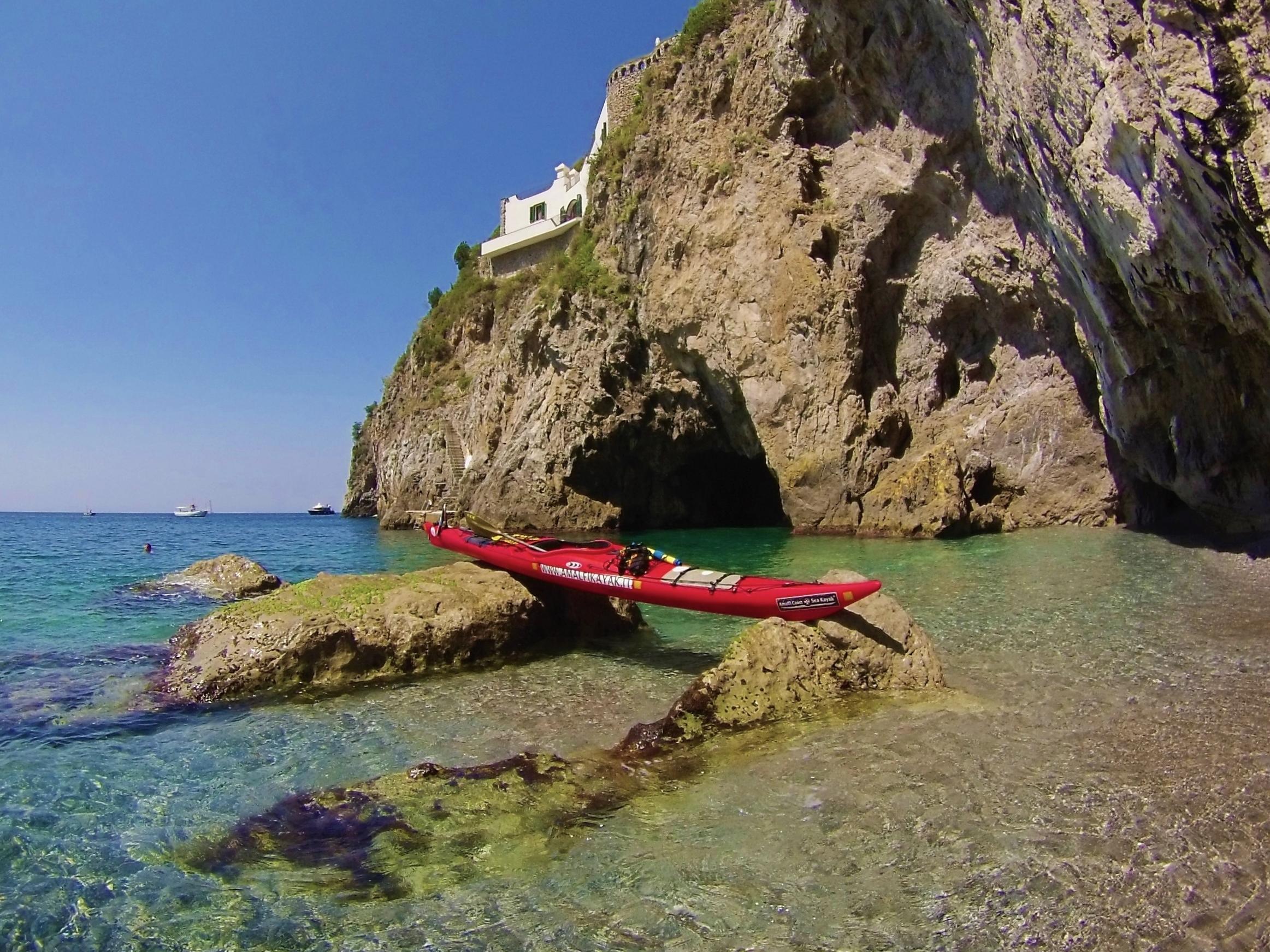 Ruochetiello Grotto - Amalfi Kayak
