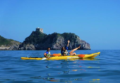 Capo di Conca Dei Marini - Amalfi Kayak