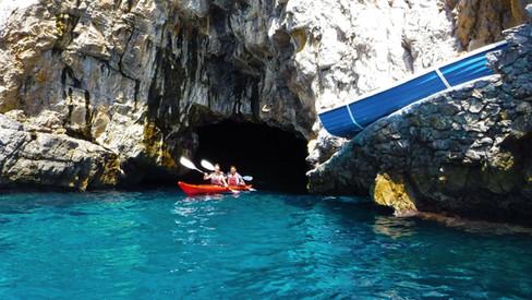Grotta Africana - Amalfi Kayak, Italia