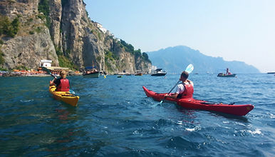 Sea Kayak in Amalfi, Italy