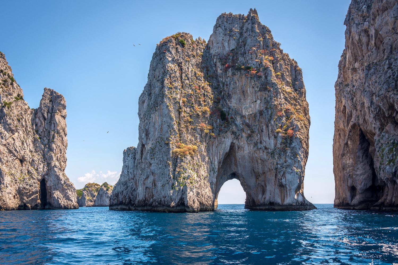 Faraglioni - Capri - Tour in barca
