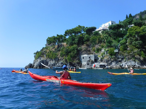 Villa di Sofia Loren - Amalfi Kayak