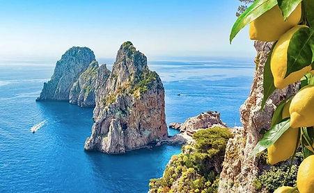 Capri Island - boat snorkeling tour - Amalfi Coast - Italy