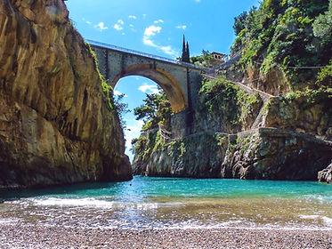 Furore fjord - boat snorkeling tour Amalfi Coast - Capri - Italy