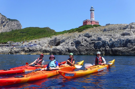 Punta Carena Lighthouse, Capri