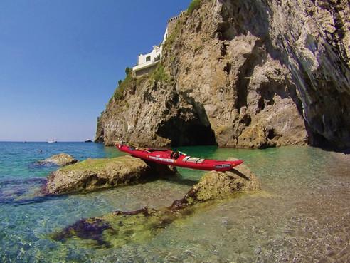 Runghetiello Grotto - Amalfi Kayak