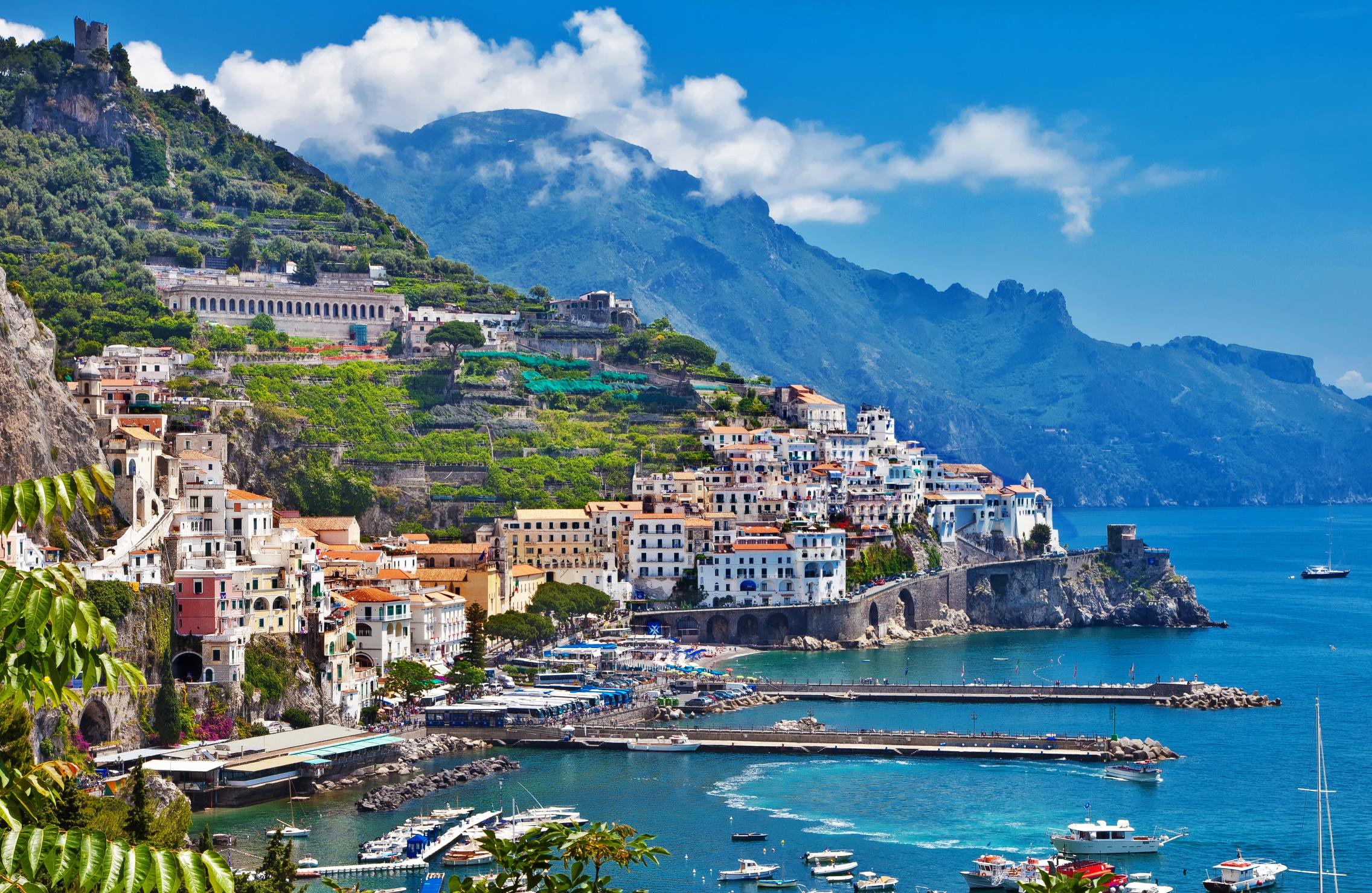 Amalfi Tour in Barca con Snorkeling