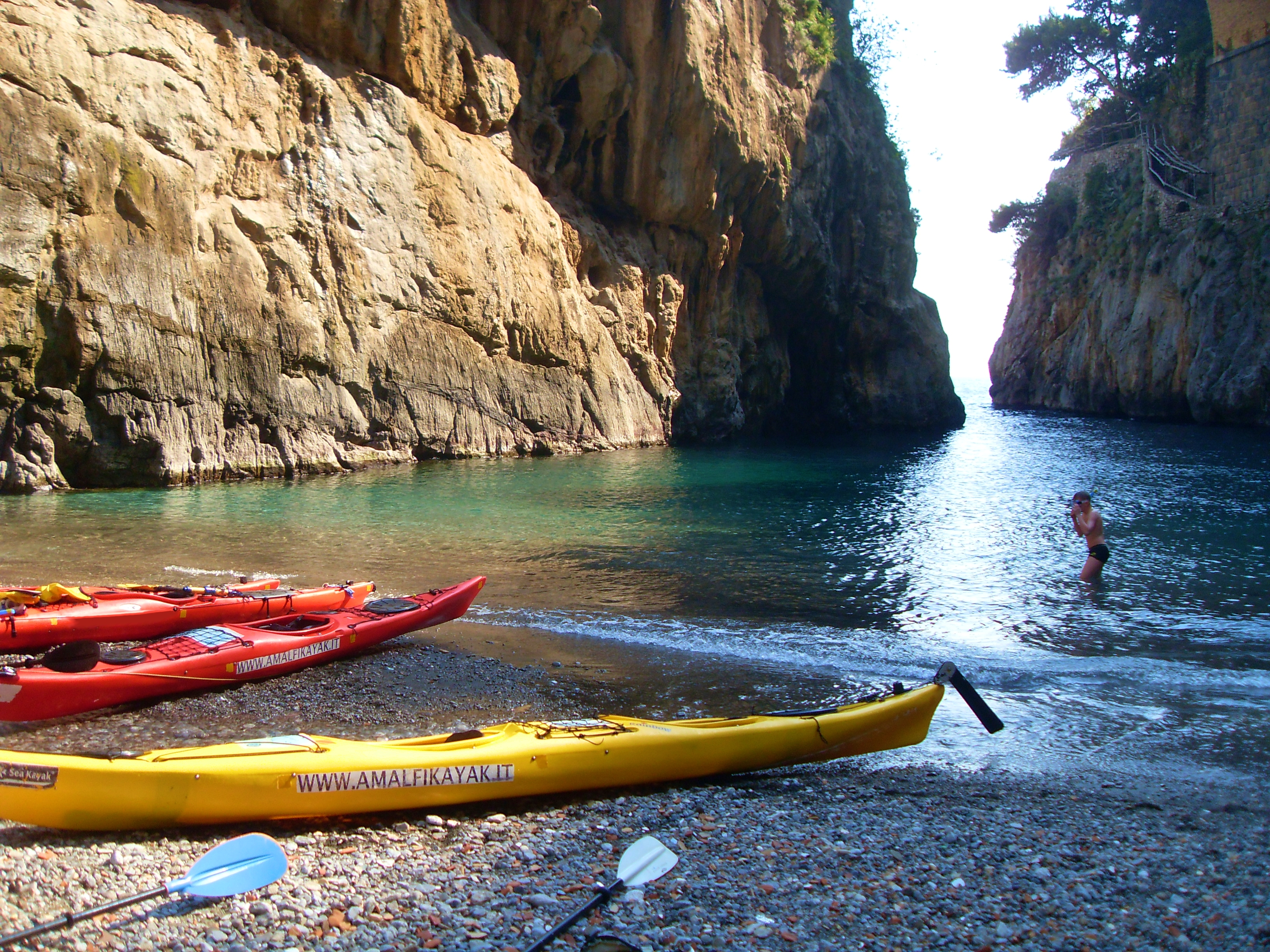 Furore Fjord - Amalfi Kayak, Italy