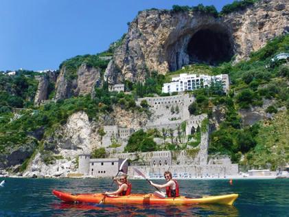 Saraceno Castle - Amalfi Kayak Italy